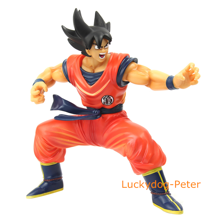 Dragon Ball Model Wukong Action Figure Son Goku Doll Pvc Acgn Figure Garage Kit Toys Brinquedos Anime 150mm Distinctive For Its Traditional Properties Toys & Hobbies
