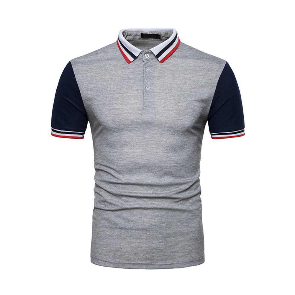 High-quality 2019 Brand New Polo Male Men Shirt Summer Mens Polos Casual Cotton