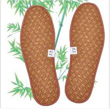 5pairs/lot Linen insoles deodorant absorbent bamboo charcoal movement cushioning insole spring summer fall