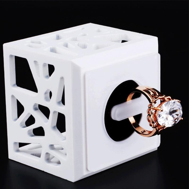 JAVRICK Rings Display Rack Jewelry Bird Nest Organizer Acrylic Stand Holder Show Decor