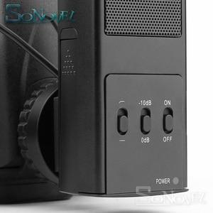 Image 2 - מקצועי DSLR מצלמה סטריאו מיקרופון עבור Canon EOS R M2 M3 M5 M6 M50 800D 760D 750D 200D 77D 80D 5Ds R 7D 6D 5D סימן IV