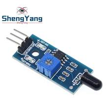 ShengYang IR Infrared 3 Wire Flame Detection Sensor Module IR Flame Sensor Module Detector Smartsense For Arduino(China)