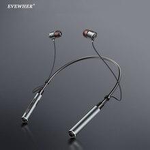 Evewher Sport Bluetooth hörlurar stereo musik trådlösa hörlurar hörlurar för telefon magnetisk headset hörlurar med mikrofon