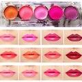 Professional Lip Gloss Palette 5 Color Baby Pink Purple Sexy Lip Tint Long-lasting Matte Lipstick Palette Nude Makeup