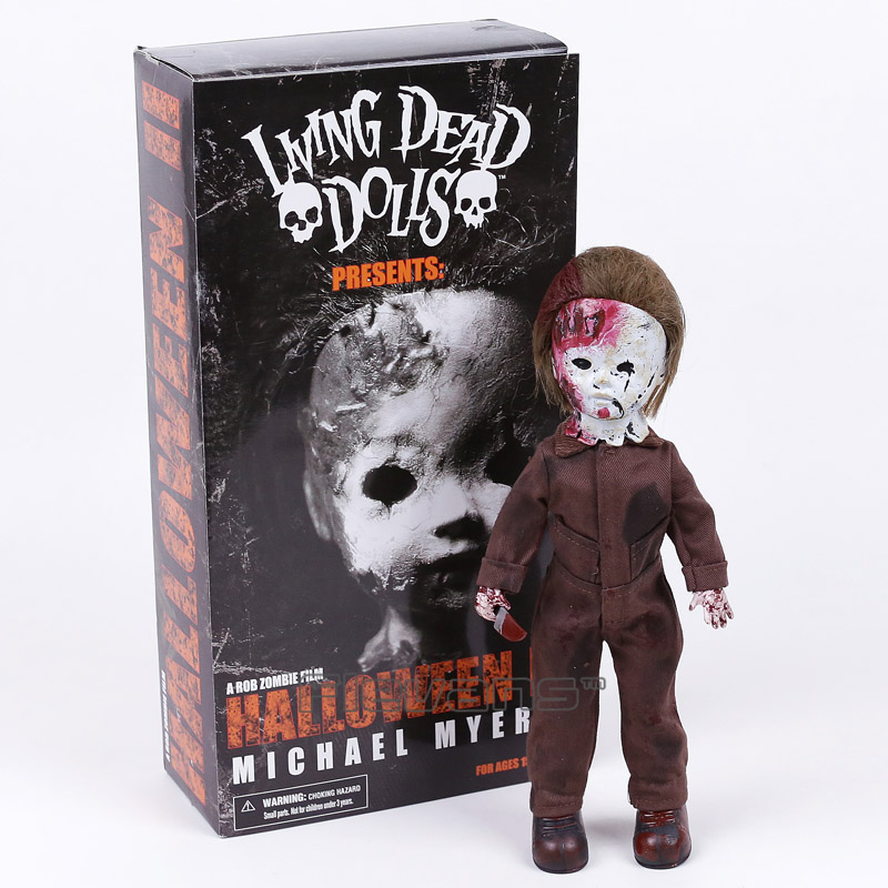 Living Dead Dolls Presents Halloween 2 Michael Myers PVC Action Figure Collectible Model Toy 28cm