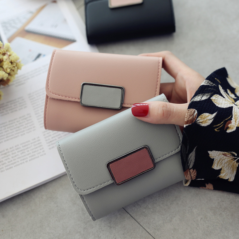 New Design Girl Wallet Women PU Leather Wallet Female Top Quality Women Small Purse Lady Money Bag Luxury Brand Wallet Hot Sell fashion women leather wallet clutch purse lady short handbag bag women small purse lady money bag zipper luxury brand wallet hot