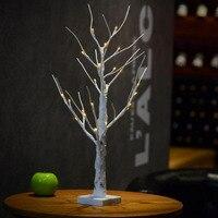 MUQGEW LED Silver Birch Twig Tree Warm White Light White Branches Fairy Lights Unique Design 2017