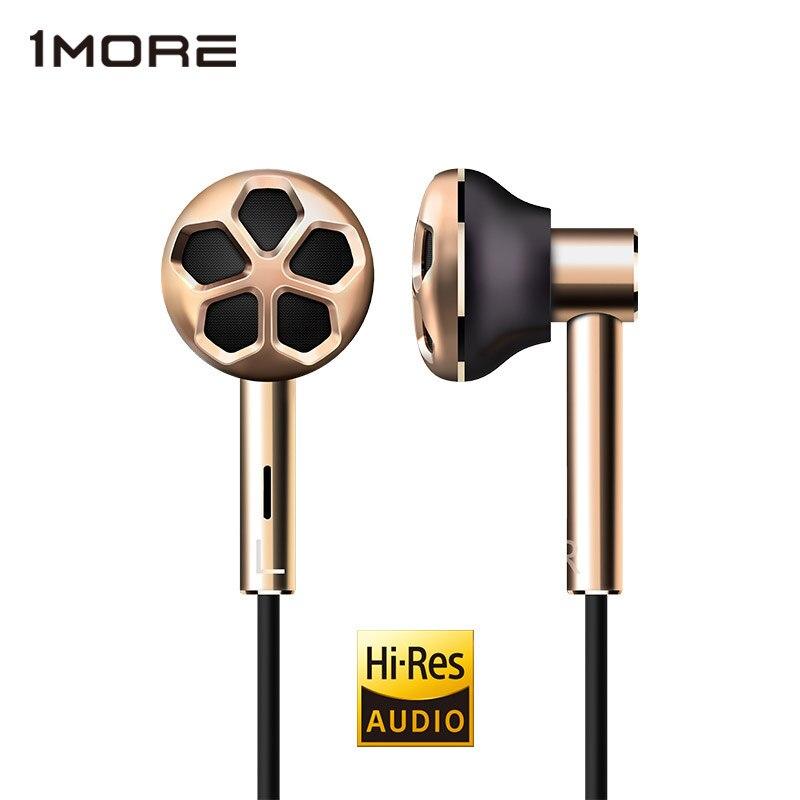 1 PLUS E1008 Dual Driver In-Ear Écouteur Écouteur Écouteurs Casque pour Téléphone Salut-Résolution Audio certification pour iOS et android Xiaomi