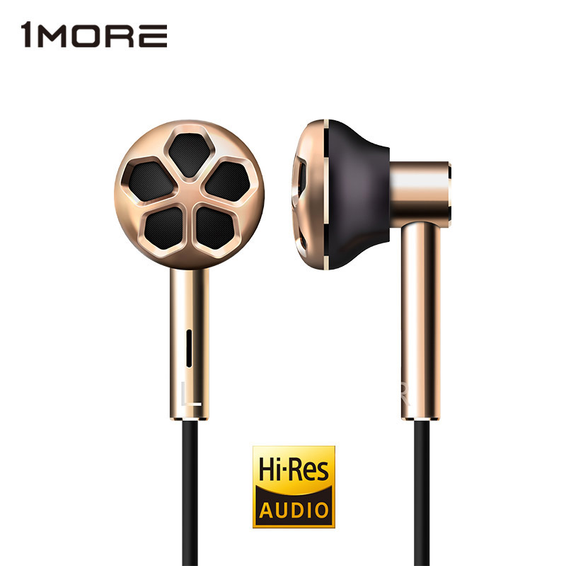 1MORE E1008 Dual Driver In-Ear Earphone Earpiece Earbuds Headset for Phone Hi-Res Audio certification for iOS and Android Xiaomi цены онлайн