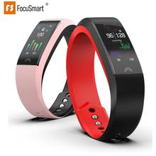 Focus Smart F6 Band Heart Rate Monitor Waterproof Fitness Tracker Bluetooth Watch Band For Android IOS