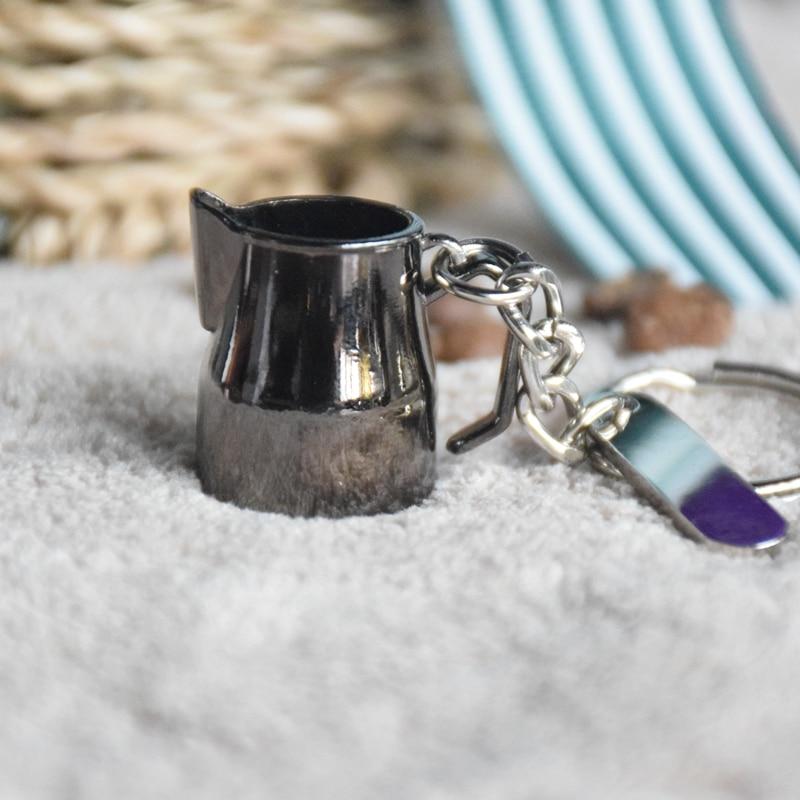 Diy Pulsuz Göndərmə Stoklu Espresso Aksesuarları Anahtarlıq - Mətbəx, yemək otağı və barı - Fotoqrafiya 4