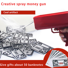 Pistolet Dla Dzieci Money Gun Toy Shoot Money Banknote Gun Toy Gun Pistol Toy