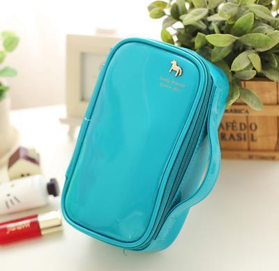 Famous Brand Cosmetic Bag Korean Wash Bag Travel Storage Cosmetic Sorting Bags Makeup Cases organizer bag