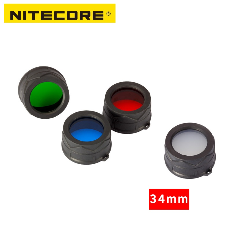 Free Shipping 1pc Nitecore NFR34/NFG34/NFB34/NFD34 Suitable For The Flashlight With Head Of 34mm