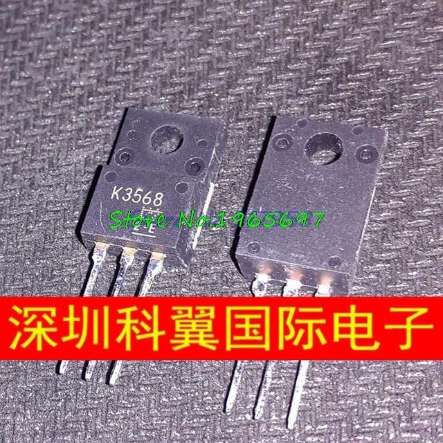 10pcs/lot K3568 2SK3568 TO-220F 500V 12A