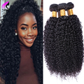 NO1 Brazilian Virgin Hair Kinky Curly Afro Kinky Curly Virgin Hair 3 Bundles Human Hair Brazilian Kinky Curly Weave Human Hair