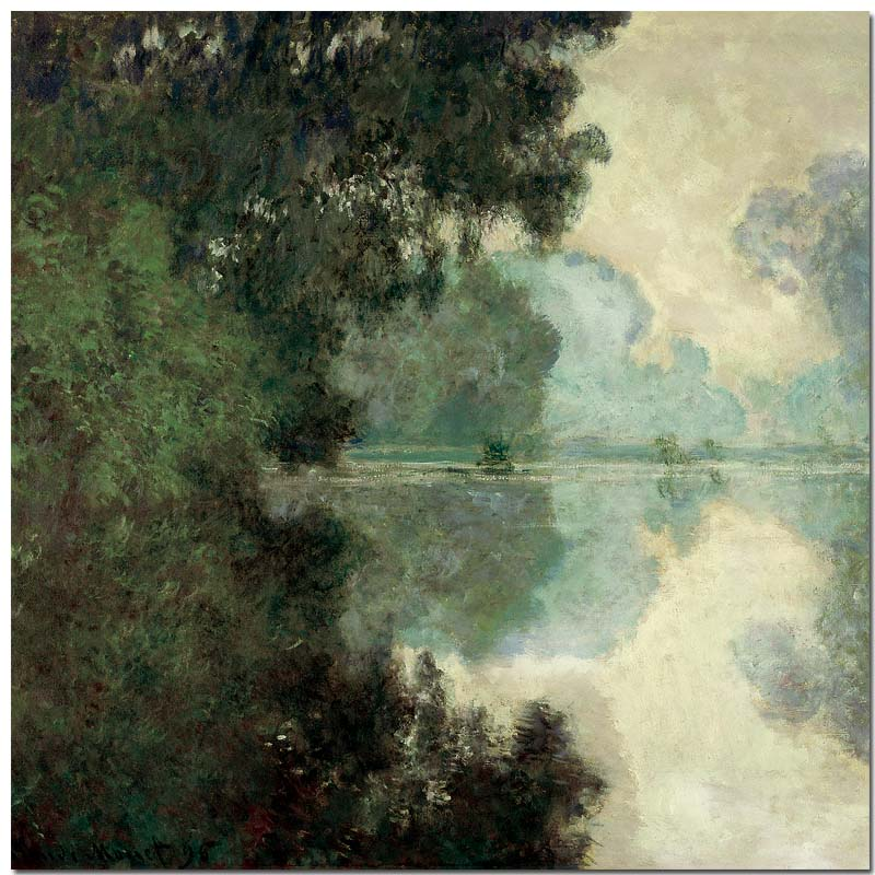 Monet - the banks of the Seine-2