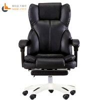 Computer stuhl hause stuhl büro stuhl können liegen mit fußstütze ergonomische sitz boss stuhl-in Bürostühle aus Möbel bei