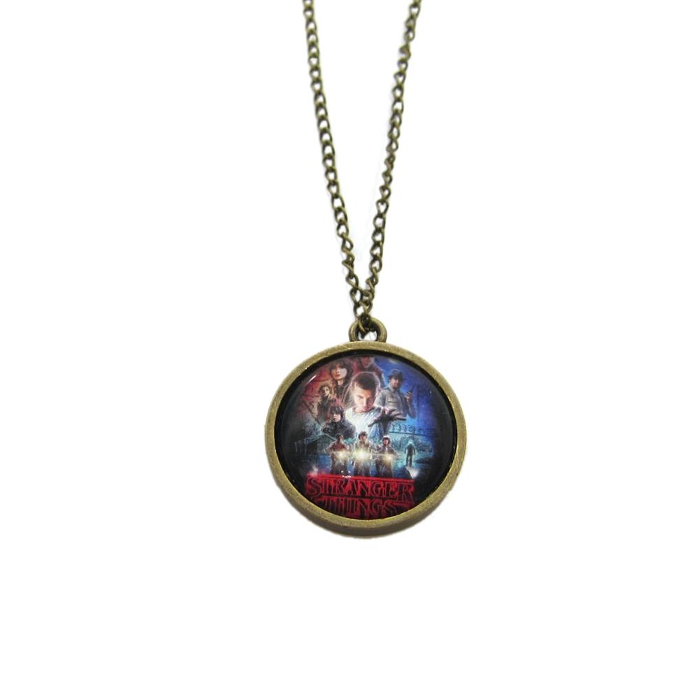 Stranger things metal necklace bestseries shop for What metal is best for jewelry