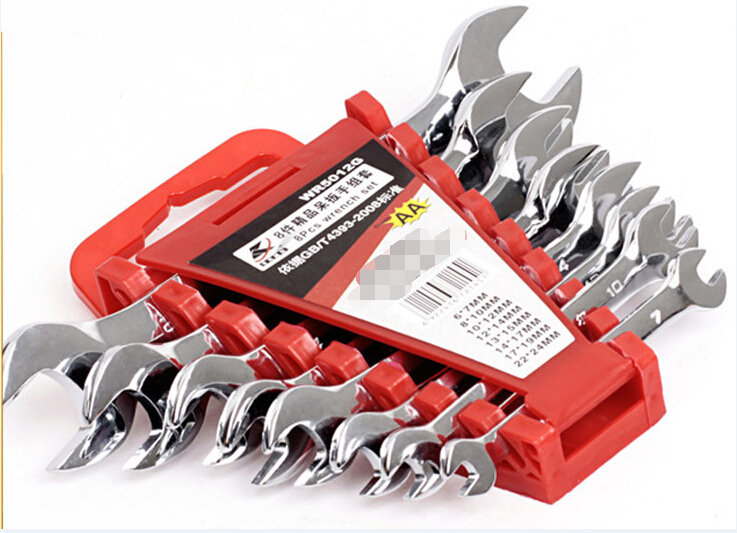 STARPAD For Headed wrench 8 sets of fine open-end wrench  Set Kit Hardware maintenance tools  цены