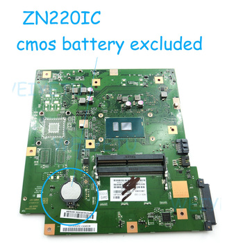 ZN220IC MAIN_BD._I5-7200CPU Motherboard For ASUS ZN220IC GM All-in-one Desktop Mainboard With I5-7200CPU 90PT01N0-R03000