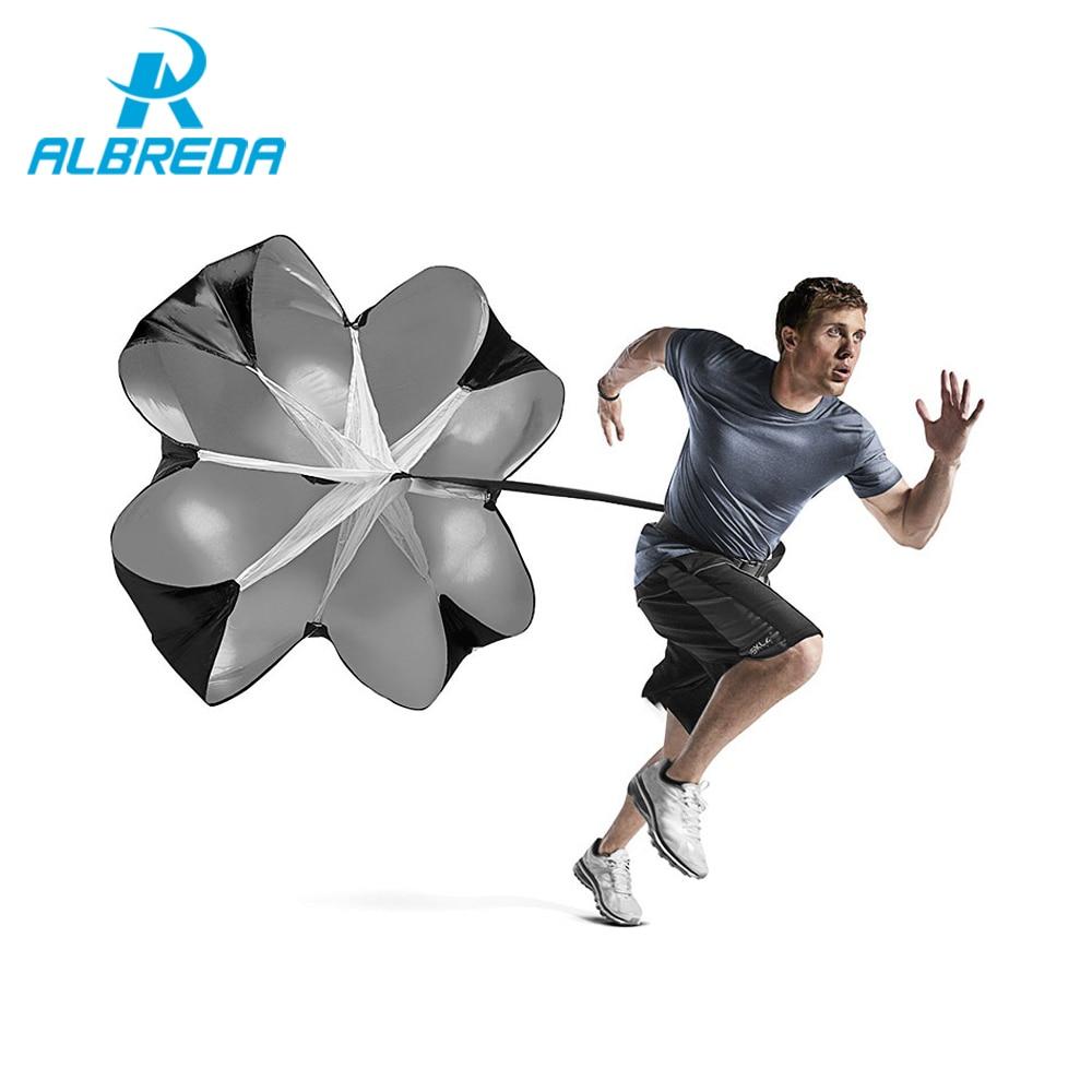 Us 8 5 44 Off Albreda Multi Funktion Training Ausrustung Speed Resistance Trainings Fallschirm Regenschirm Fussball Fussball Lauf Power Training In