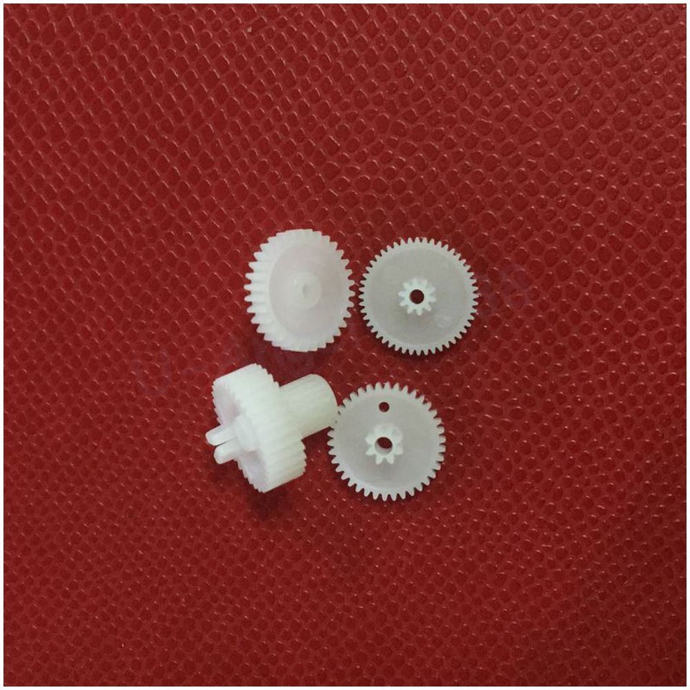 10set/lot Plastic 9g Servo Gears For Tower pro SG90 Servo mg995 tower pro servo