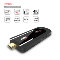 H96 Pro Android 7 1 1 OS Amlogic S912 BT4 1 TV Dongle