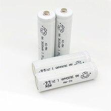 4 pcs Frete Grátis qualidade AA NI-MH Baterias Recarregáveis 1.2 v 3600 mah NIMH Bateria 1.2 v Brinquedo Do Rato lanterna Da Bateria