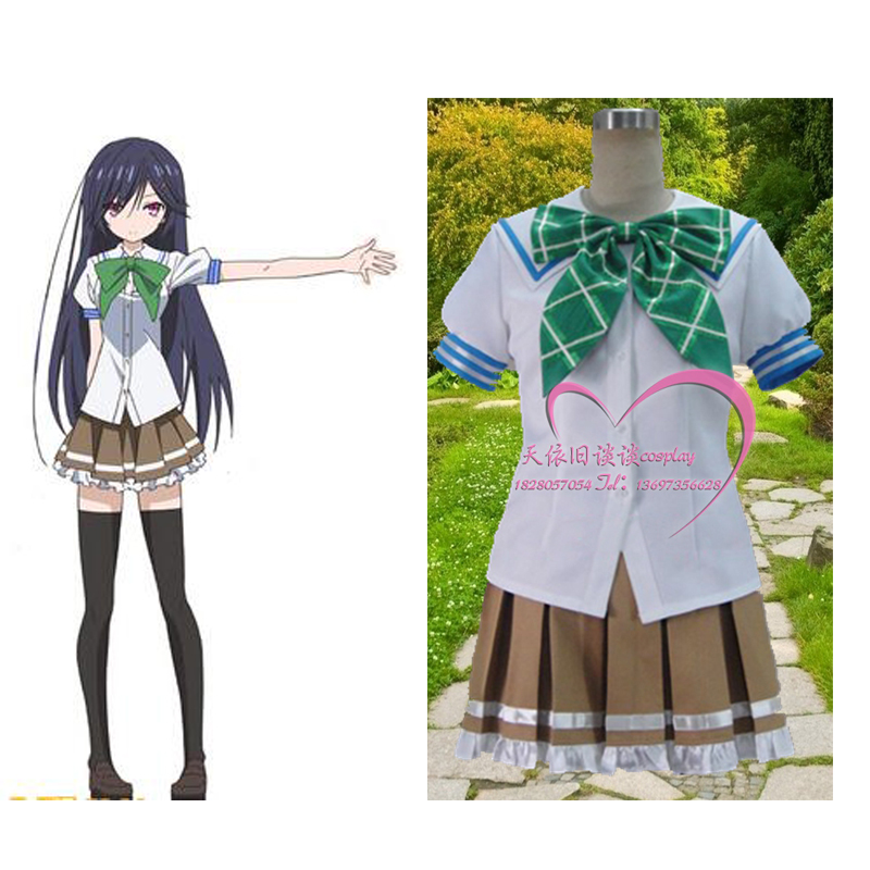 2012 New Anime Mahou Sensou Dakimakura cosplay Magical Warfare uniform suit cosplay costume image