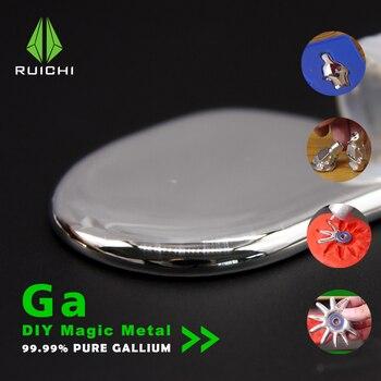 Galu metal 50 gramów 99.99% czystego metalu galu Element 31 darmowa wysyłka