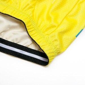 Image 3 - 2019 Yellow Jersey di Riciclaggio A Maniche Lunghe Da Uomo Motocross Mountain Bike Bicicletta Abbigliamento DH MTB Della Bici Abbigliamento Sportivo