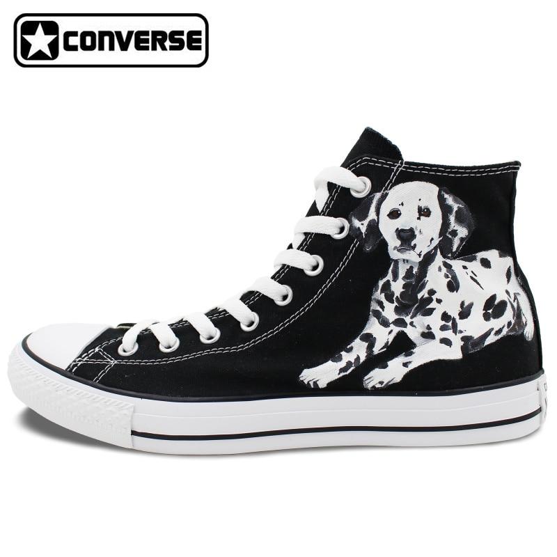 Dalmatian Dog Pet Original Design Converse All Star Women font b Men b font font b