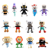 13pcs Game Cuphead Plush Toy Legendary Mugman King Dice Chalice Stuffed Toys Plush Doll Cuphead For Kids Gifts
