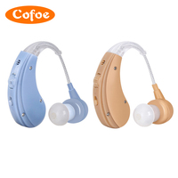Cofoe Wireless Invisible Hearing Aid Earphone For Old People Hearing Loss Rechargeable Deafness Hard Of Hearing