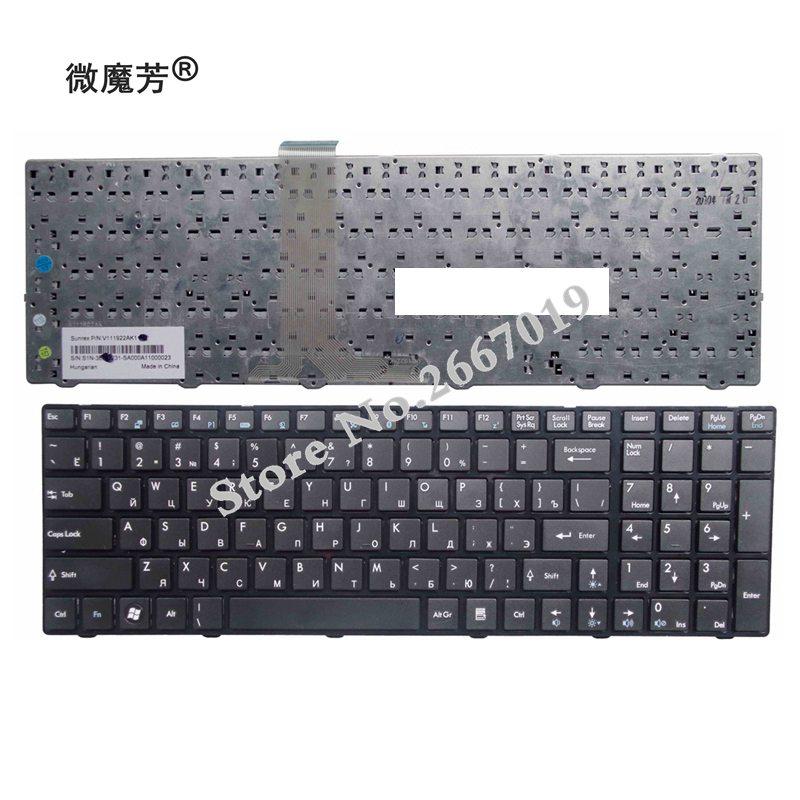 RU Black New FOR MSI A6200 CR620 CX705 S6000 V111922AK1 A6203 A6300 A6500 A7200 CR630 CR650 CR720 Laptop Keyboard
