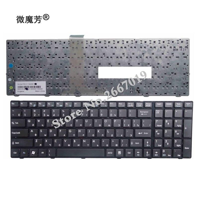 RU black New FOR MSI A6200 CR620 CX705 S6000 V111922AK1 A6203 A6300 A6500 A7200 CR630 CR650 CR720 Laptop Keyboard russian keyboard for msi a6200 cr620 cx705 s6000 cr61 ms 1681 ms 1736 cx705 ms16gb ms16ga ge60 cx70 cx61 v111922ak3 black ru