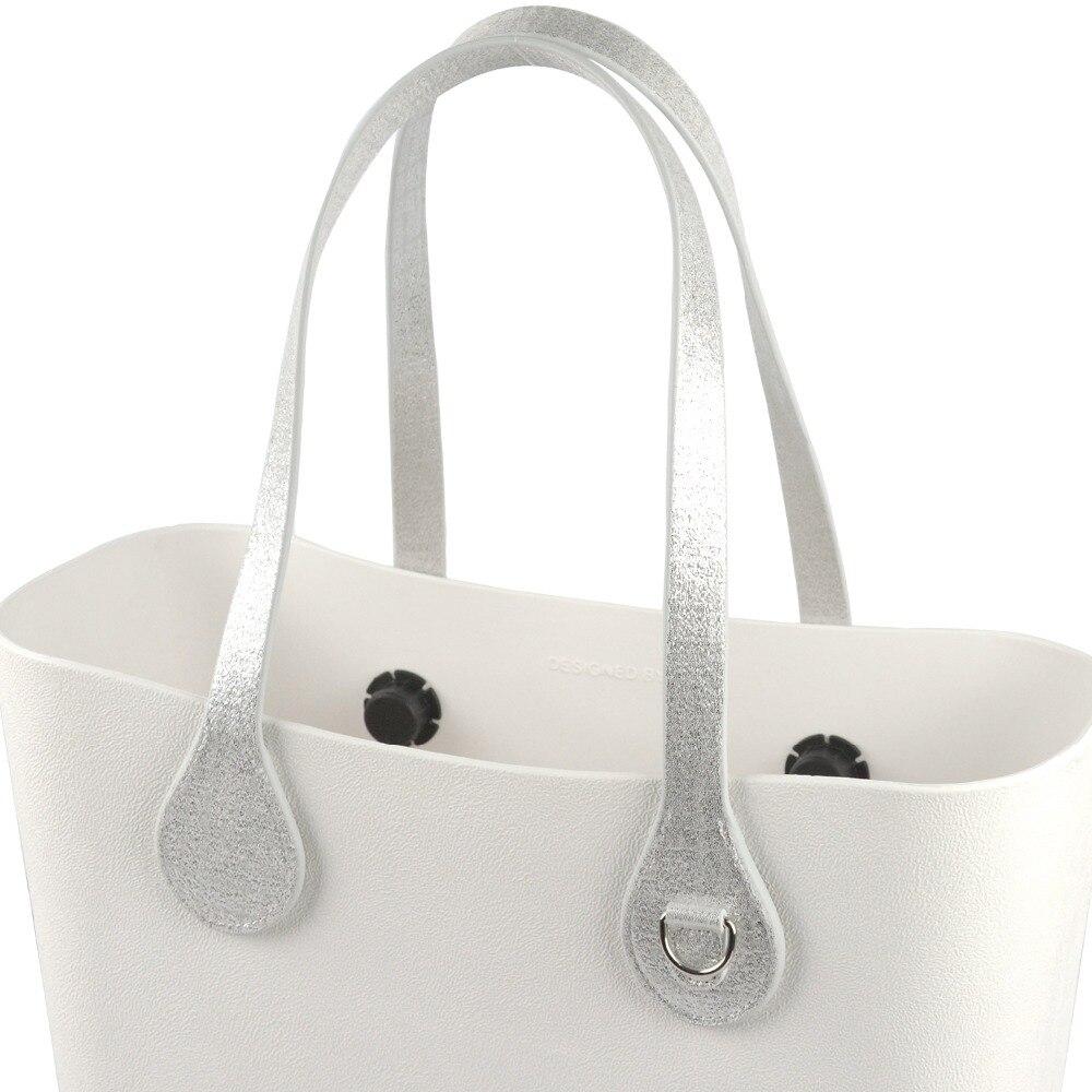 Gilding Handle Teardrop End Handle Faux Leather Handles for OBag for EVA O Bag
