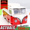 DHL LEPIN 21001 Technic Bus Building Blocks Set 1354Pcs T1 Camper Van Compatible Bricks Kit Children