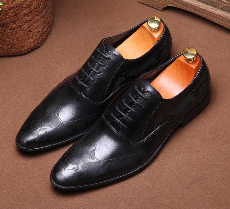Encaje Del as Dedo Hombres Clásico Zapatos Negocios Derby Retro Formales Pic Oficina Cuero Los Real Hombre Pic De Pie Puntiagudo As HwIHEtnq8