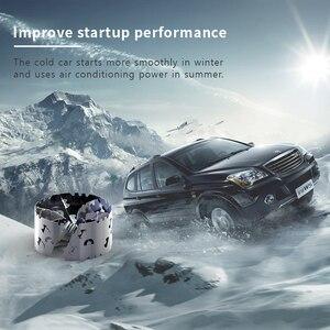 Image 4 - Turbocompresseur pour économie de carburant, accélérateur pour économie dhuile, améliore le rapport Air carburant, calibre 35 40MM 80 85MM, 2 pièces/paquet