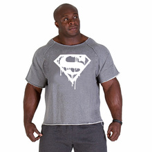 Hot new products 2019 fashion brand shirt mens clothing. Superhero Superman Printed Tattoo Male O-Neck Shirt Menswear Brand.