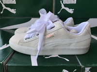2019 New Arrival Authentic Puma Women' s Skate Shoe Basket Heart Sneaker Lightweight Breathable Athletic Walking Gym Shoes