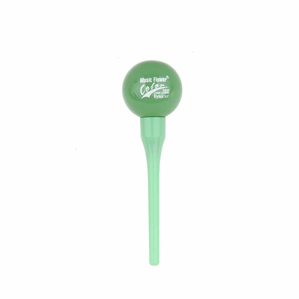 Eyeliner ołówek wodoodporny długopis szybkie suche i naturalne czynniki muzyka kwiat makijaż pióro do brwi wodoodporny ołówek Y523