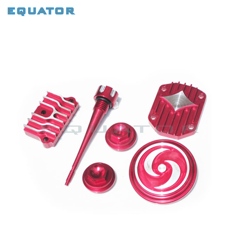 Motorcycle <font><b>Engine</b></font> parts Dress Up cover Kit for <font><b>Lifan</b></font> Zongshen YX 50cc <font><b>70cc</b></font> 90cc 110cc Pit Dirt Bike ATV Quad Go Kart image