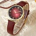 IBSO Women Watch Top Marca de Luxo Moda Casual Quartz Relógios De Couro Do Esporte relógios de Pulso Senhora À Moda Original 30 m À Prova D' Água