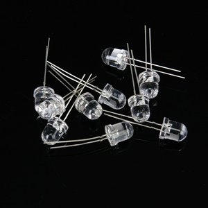 Image 2 - 10 pces 8 mm saída de luz led infravermelho ir
