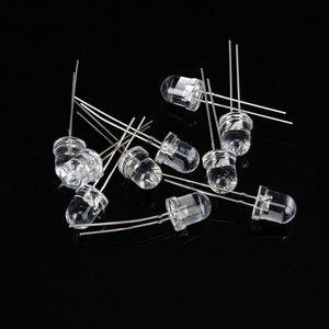 Image 2 - 10 pcs 8 mm פלט של LED IR אינפרא אדום LED אור