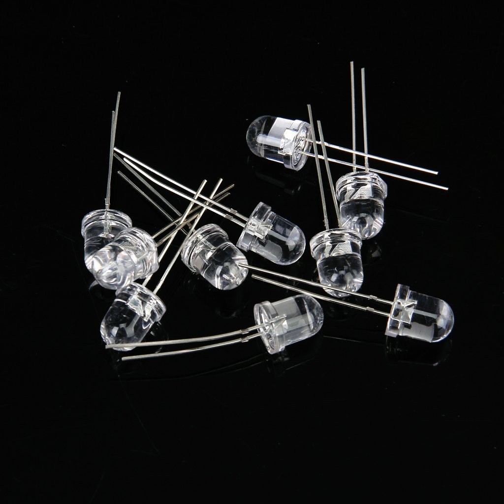Image 2 - 10 pcs 8 mm Output of LED IR Infrared LED Light-in LED Bulbs & Tubes from Lights & Lighting