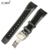 22mm NEW Black Mergulhador Cinta Faixas de Relógio de Borracha de Silicone Incluir implantação fecho Relojes Hombre 2017 Relógios Das Mulheres Dos Homens de Borracha